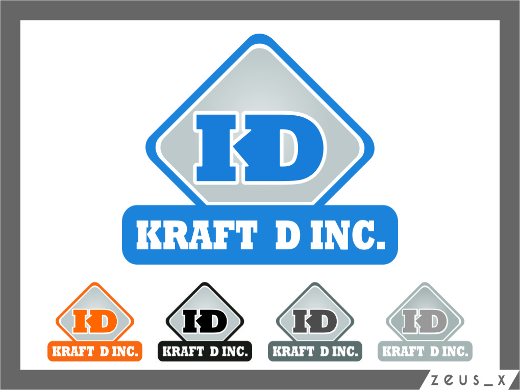 Logo Design by Ngepet_art - Entry No. 369 in the Logo Design Contest Unique Logo Design Wanted for Kraft D Inc.