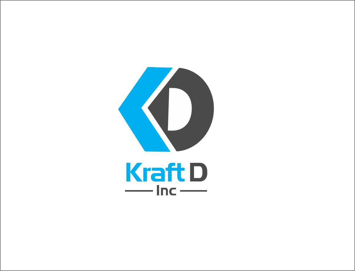 Logo Design by Private User - Entry No. 370 in the Logo Design Contest Unique Logo Design Wanted for Kraft D Inc.