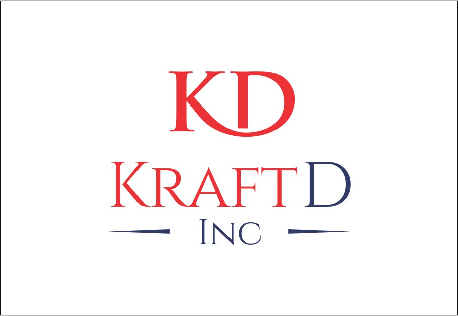 Logo Design by Private User - Entry No. 372 in the Logo Design Contest Unique Logo Design Wanted for Kraft D Inc.