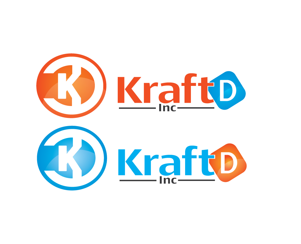 Logo Design by 354studio - Entry No. 374 in the Logo Design Contest Unique Logo Design Wanted for Kraft D Inc.