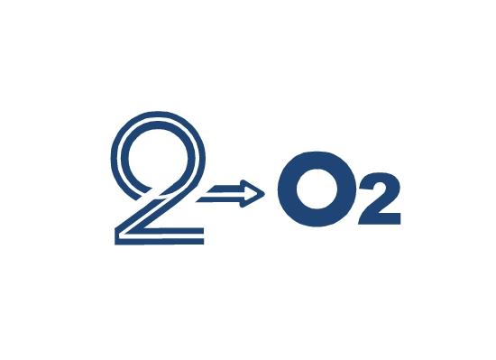 Logo Design by Ismail Adhi Wibowo - Entry No. 46 in the Logo Design Contest Artistic Logo Design for O2.
