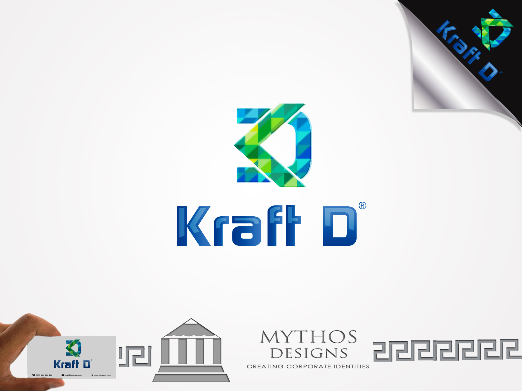 Logo Design by Mythos Designs - Entry No. 377 in the Logo Design Contest Unique Logo Design Wanted for Kraft D Inc.