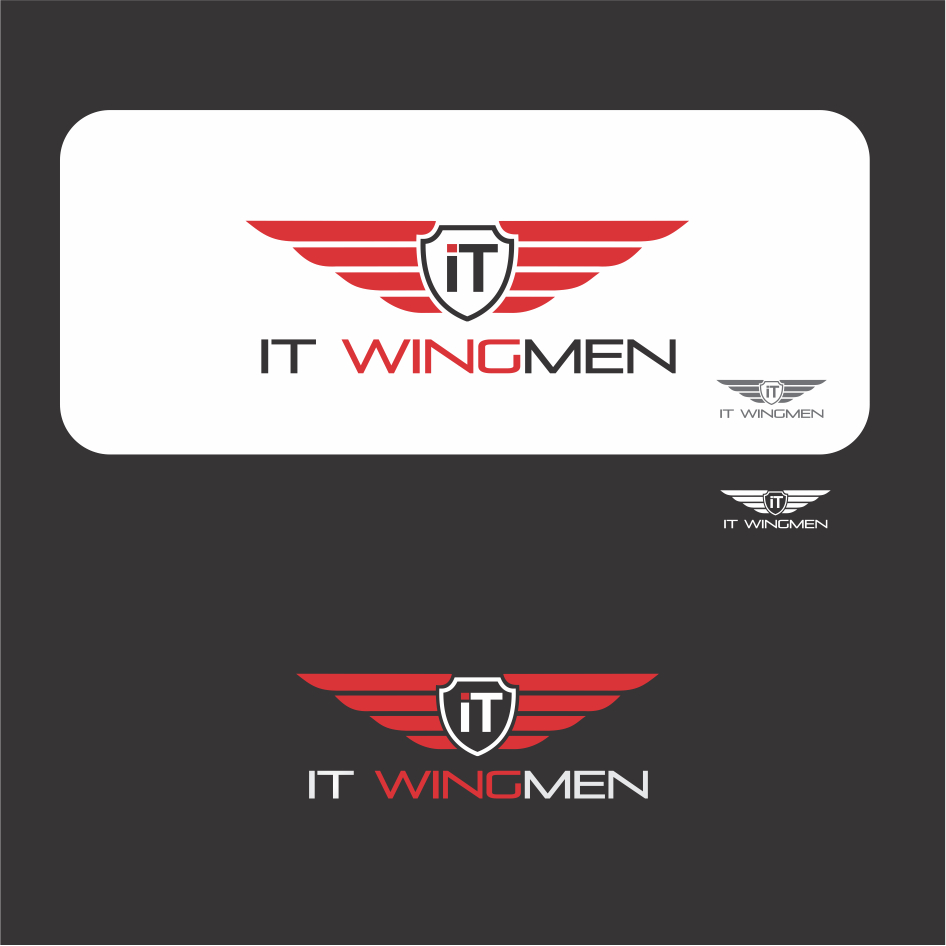 Logo Design by DENOK - Entry No. 17 in the Logo Design Contest New Logo Design for IT Wingmen.