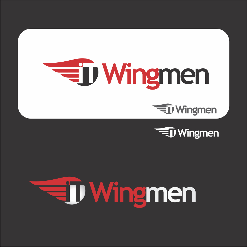 Logo Design by DENOK - Entry No. 18 in the Logo Design Contest New Logo Design for IT Wingmen.
