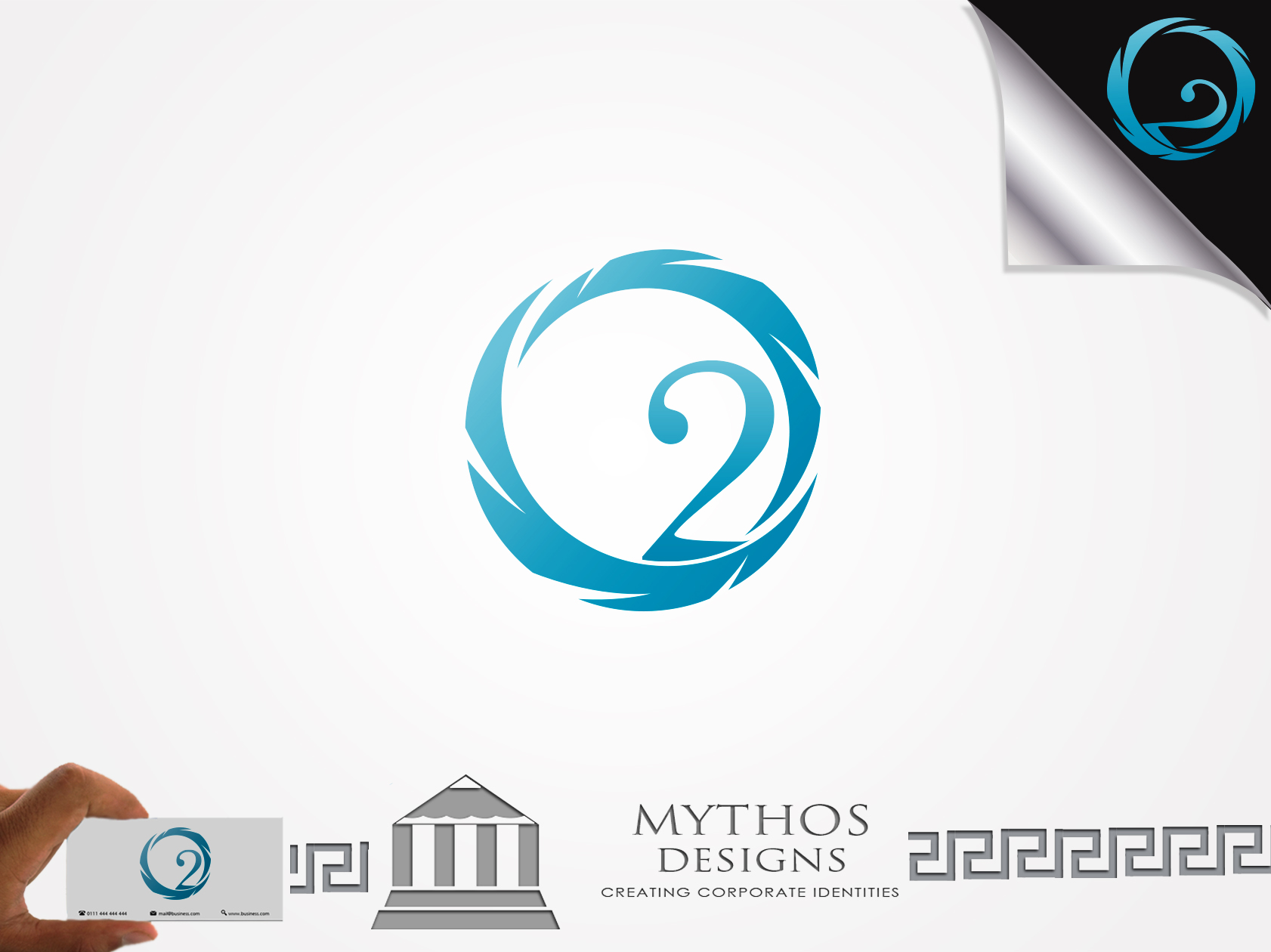 Logo Design by Mythos Designs - Entry No. 47 in the Logo Design Contest Artistic Logo Design for O2.