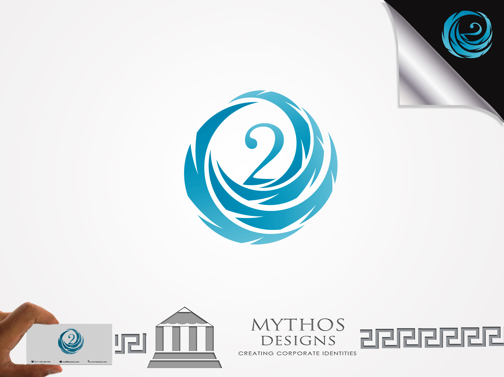 Logo Design by Mythos Designs - Entry No. 48 in the Logo Design Contest Artistic Logo Design for O2.