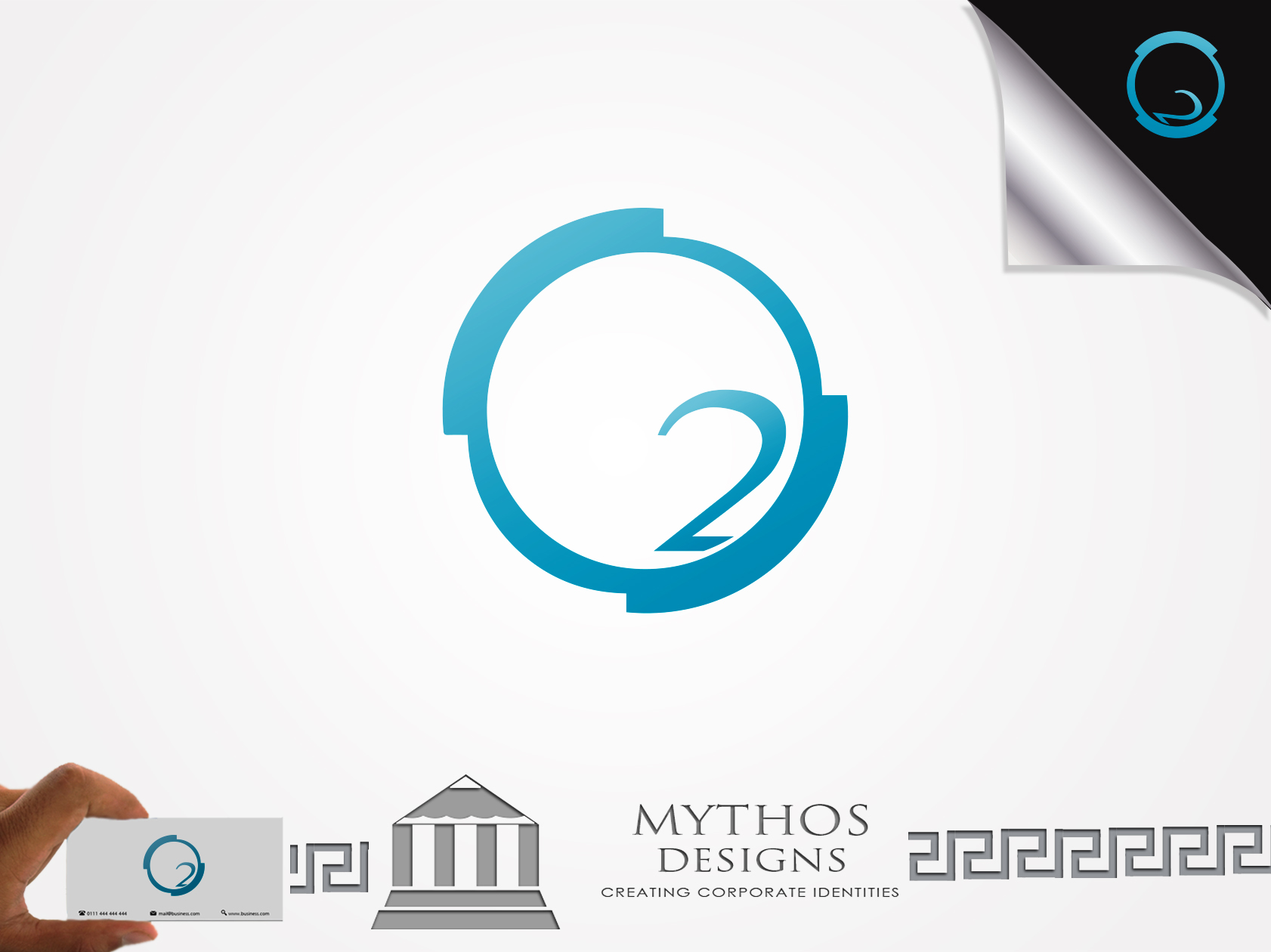 Logo Design by Mythos Designs - Entry No. 49 in the Logo Design Contest Artistic Logo Design for O2.