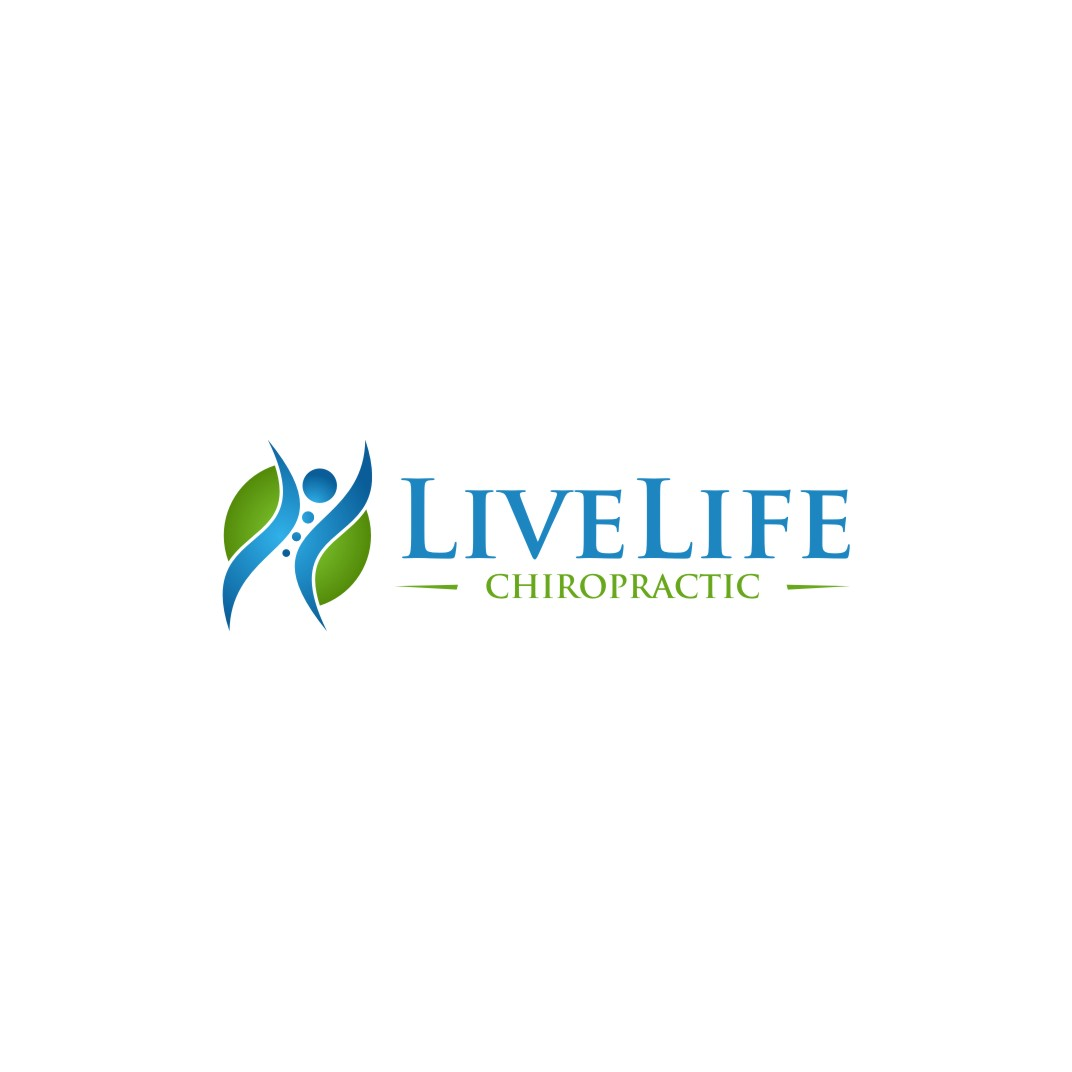 Logo Design by untung - Entry No. 5 in the Logo Design Contest Captivating Logo Design for LiveLife Chiropractic.