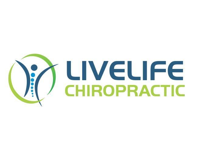 Logo Design by ronny - Entry No. 6 in the Logo Design Contest Captivating Logo Design for LiveLife Chiropractic.