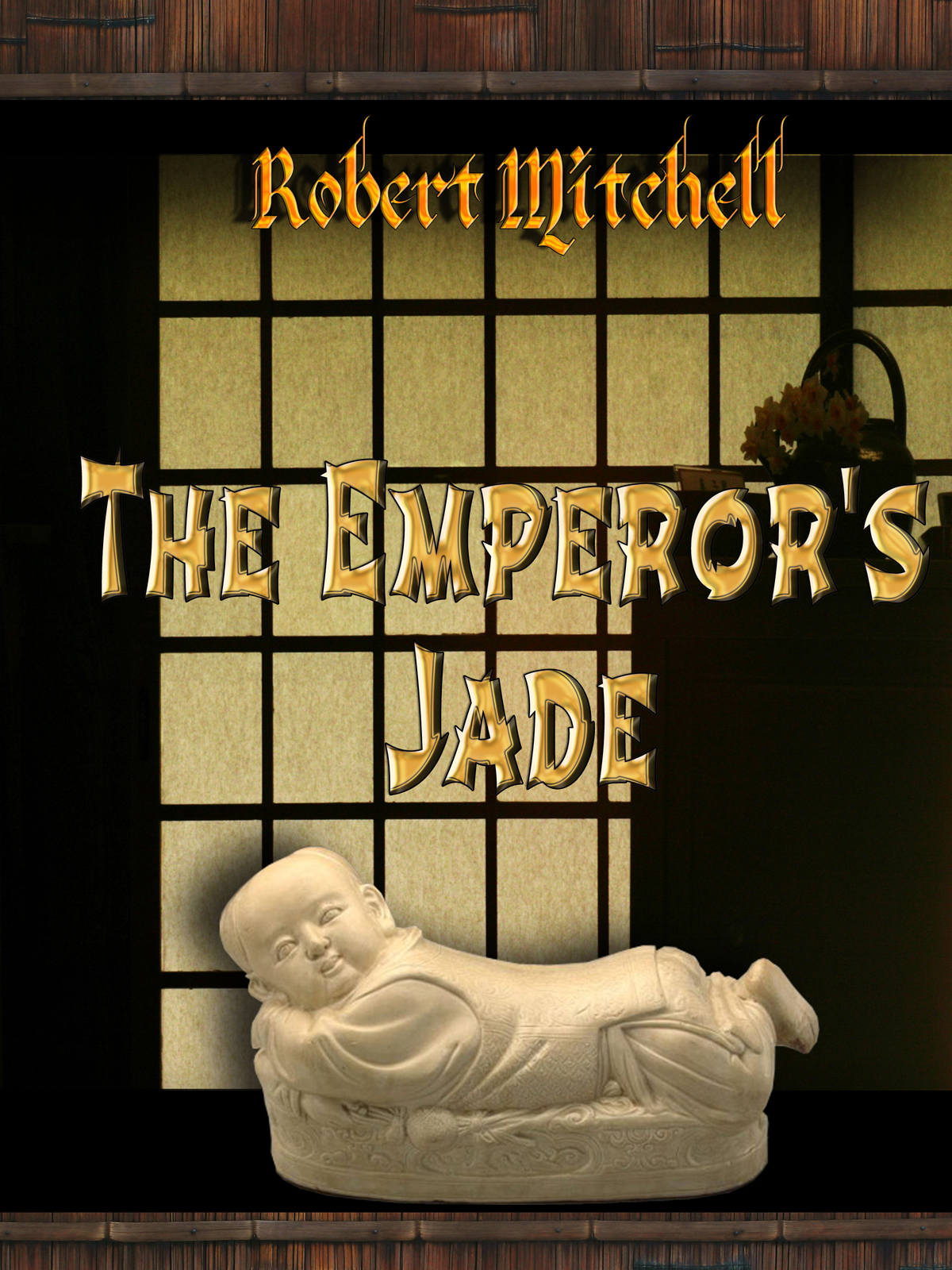 Book Cover Design by MITUCA ANDREI - Entry No. 20 in the Book Cover Design Contest Book Cover Design for The Emperor's Jade.