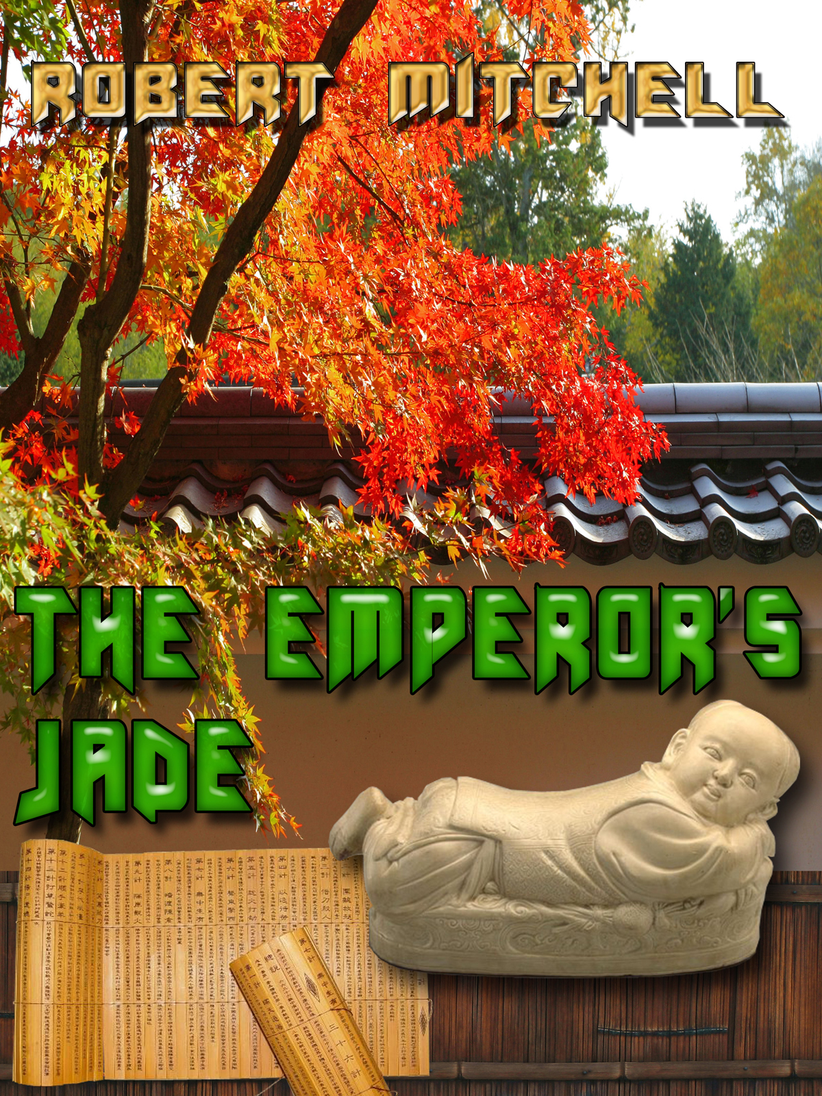 Book Cover Design by MITUCA ANDREI - Entry No. 22 in the Book Cover Design Contest Book Cover Design for The Emperor's Jade.