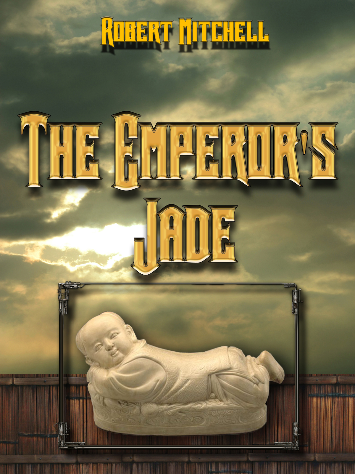 Book Cover Design by MITUCA ANDREI - Entry No. 25 in the Book Cover Design Contest Book Cover Design for The Emperor's Jade.