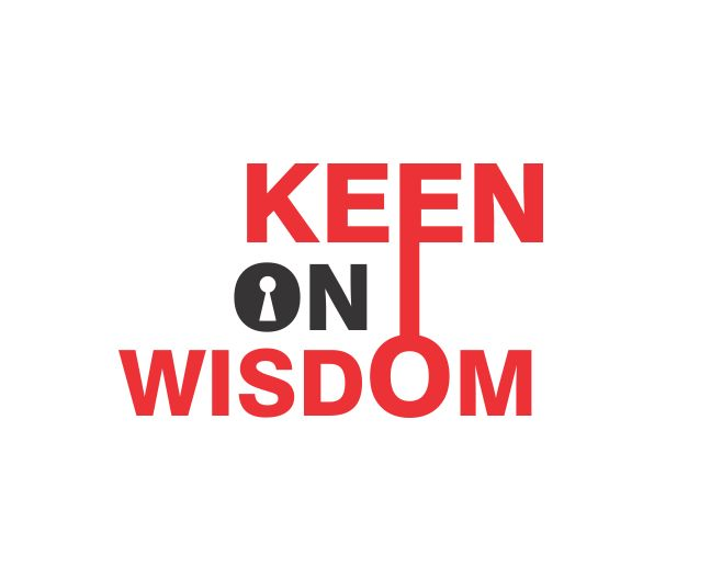 Logo Design by ronny - Entry No. 3 in the Logo Design Contest Logo Design for Keen on Wisdom, Keen for Life, Keen 4 Life.