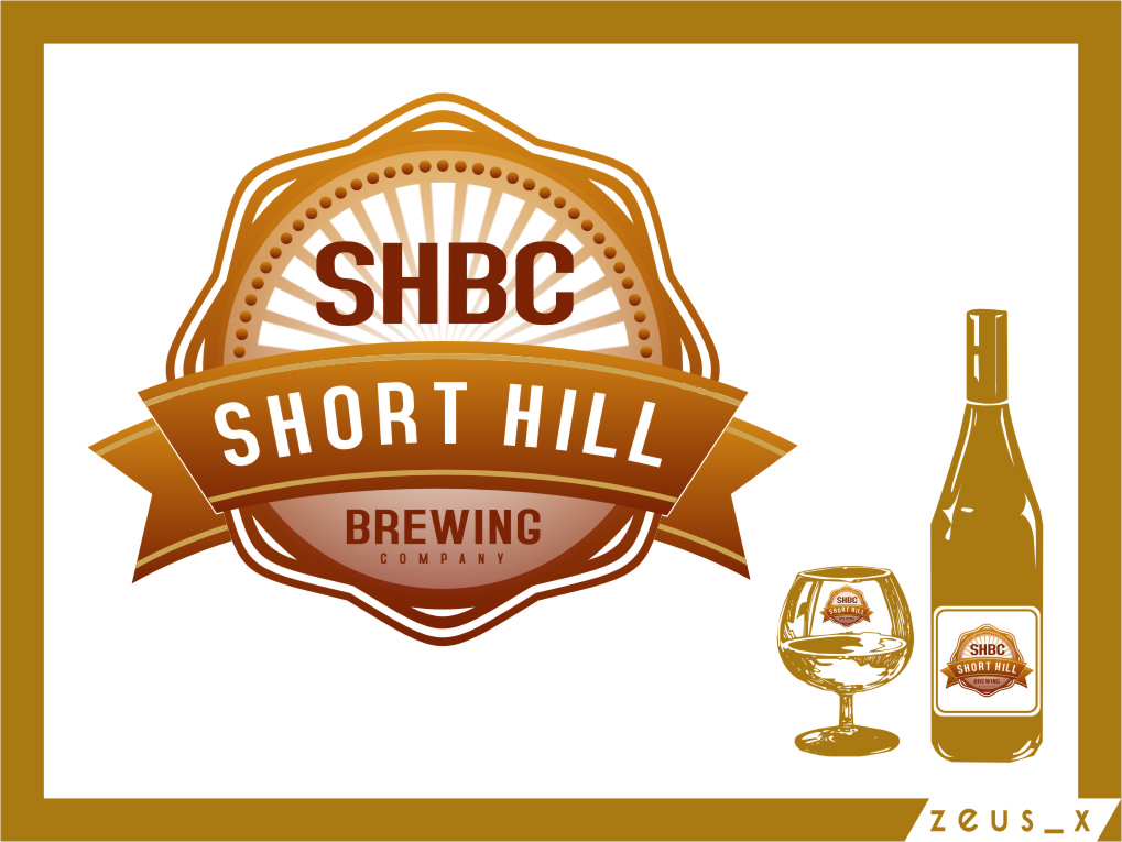 Logo Design by Ngepet_art - Entry No. 52 in the Logo Design Contest Unique Logo Design Wanted for Short Hill Brewing Company.