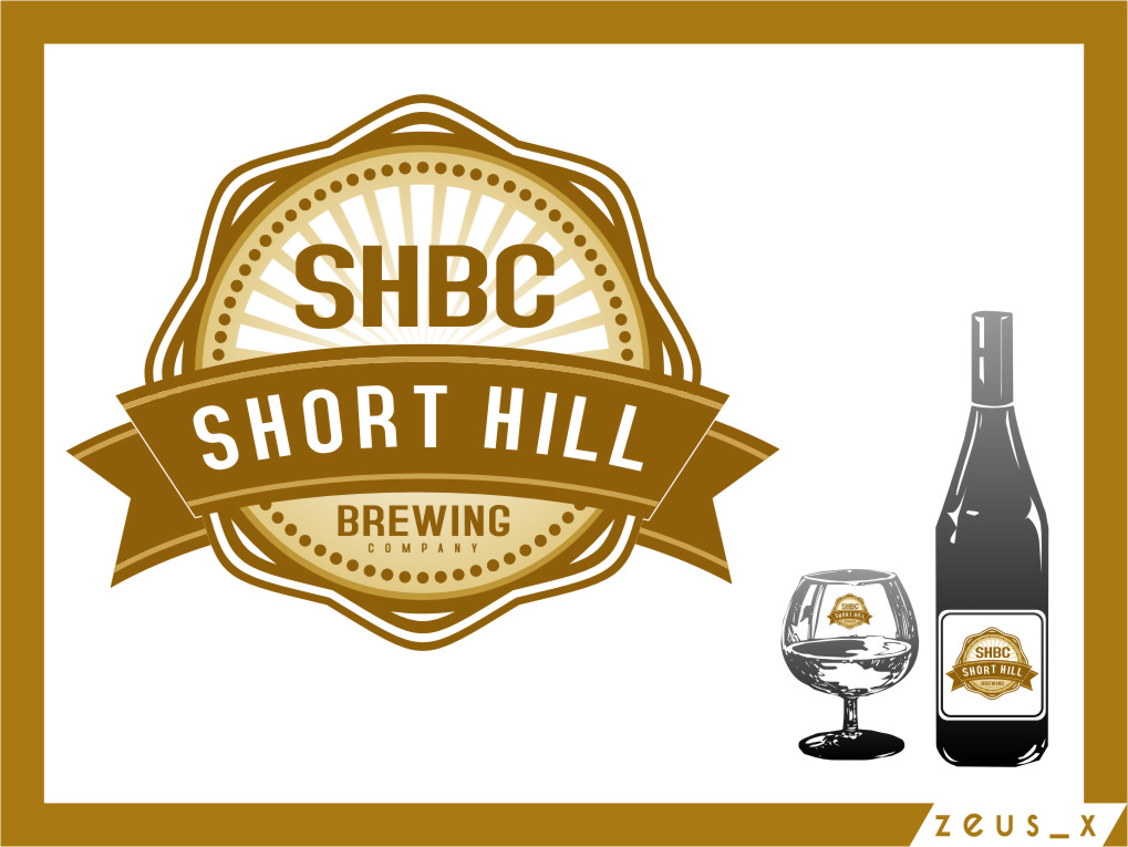 Logo Design by RasYa Muhammad Athaya - Entry No. 55 in the Logo Design Contest Unique Logo Design Wanted for Short Hill Brewing Company.