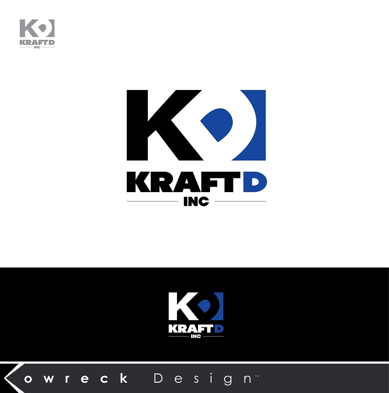 Logo Design by kowreck - Entry No. 385 in the Logo Design Contest Unique Logo Design Wanted for Kraft D Inc.