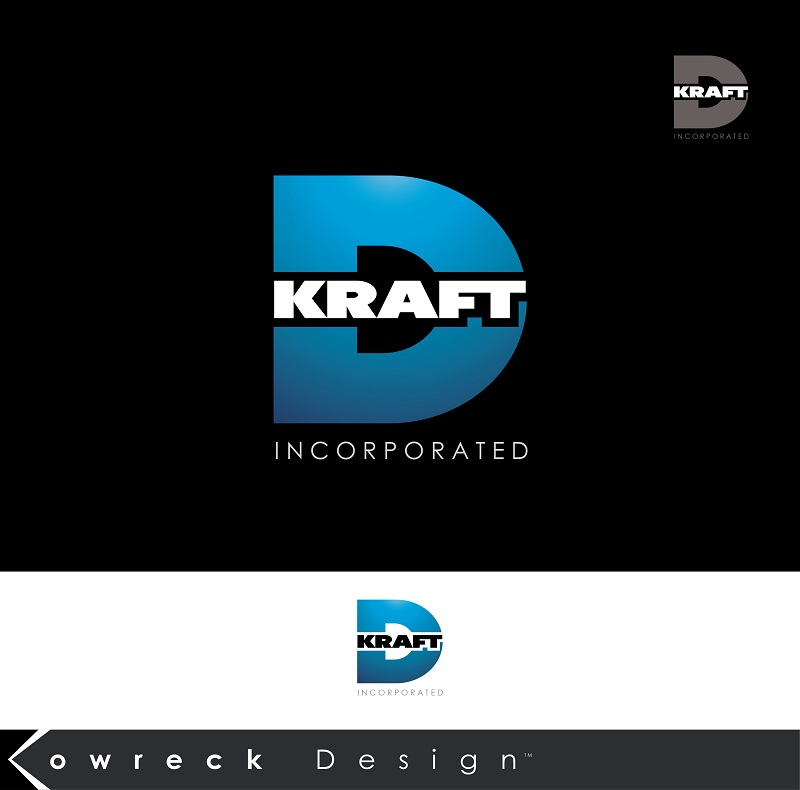 Logo Design by kowreck - Entry No. 388 in the Logo Design Contest Unique Logo Design Wanted for Kraft D Inc.