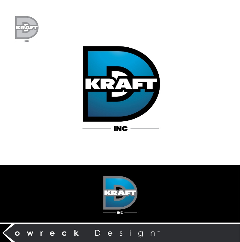 Logo Design by kowreck - Entry No. 389 in the Logo Design Contest Unique Logo Design Wanted for Kraft D Inc.
