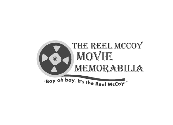 Logo Design by Ismail Adhi Wibowo - Entry No. 1 in the Logo Design Contest Unique Logo Design Wanted for The Reel McCoy Movie Memorabilia.