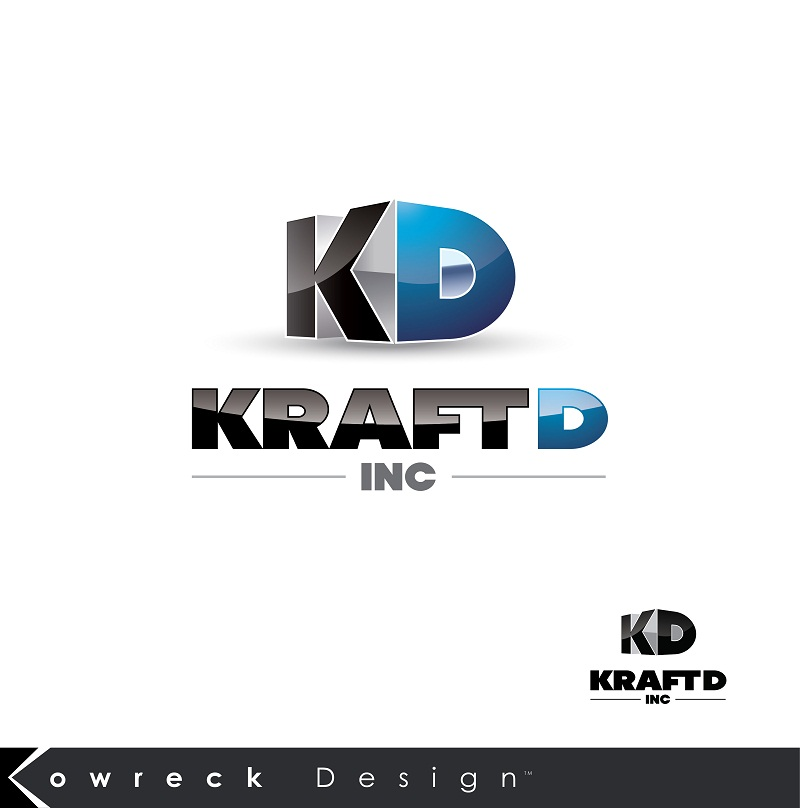 Logo Design by kowreck - Entry No. 390 in the Logo Design Contest Unique Logo Design Wanted for Kraft D Inc.