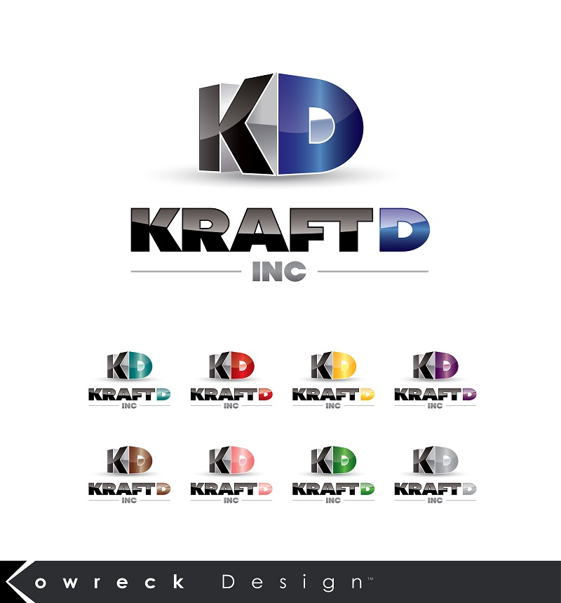 Logo Design by kowreck - Entry No. 391 in the Logo Design Contest Unique Logo Design Wanted for Kraft D Inc.