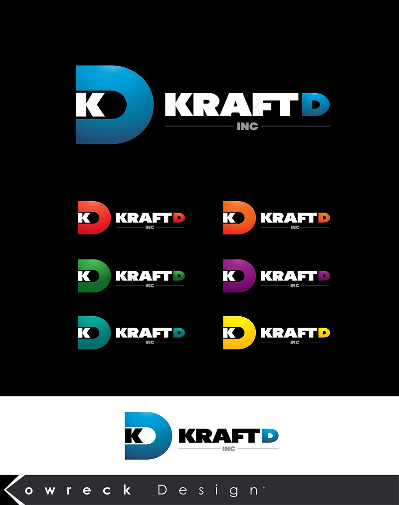 Logo Design by kowreck - Entry No. 392 in the Logo Design Contest Unique Logo Design Wanted for Kraft D Inc.