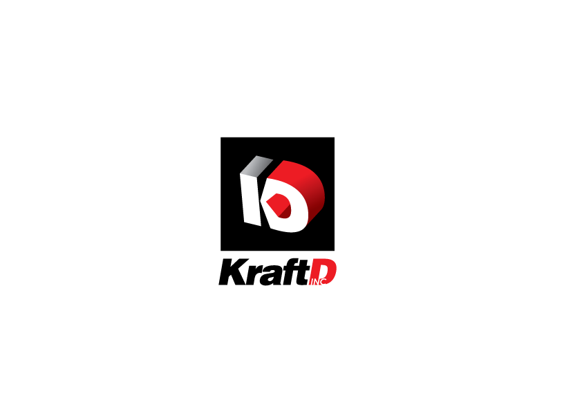 Logo Design by Severiano Fernandes - Entry No. 393 in the Logo Design Contest Unique Logo Design Wanted for Kraft D Inc.