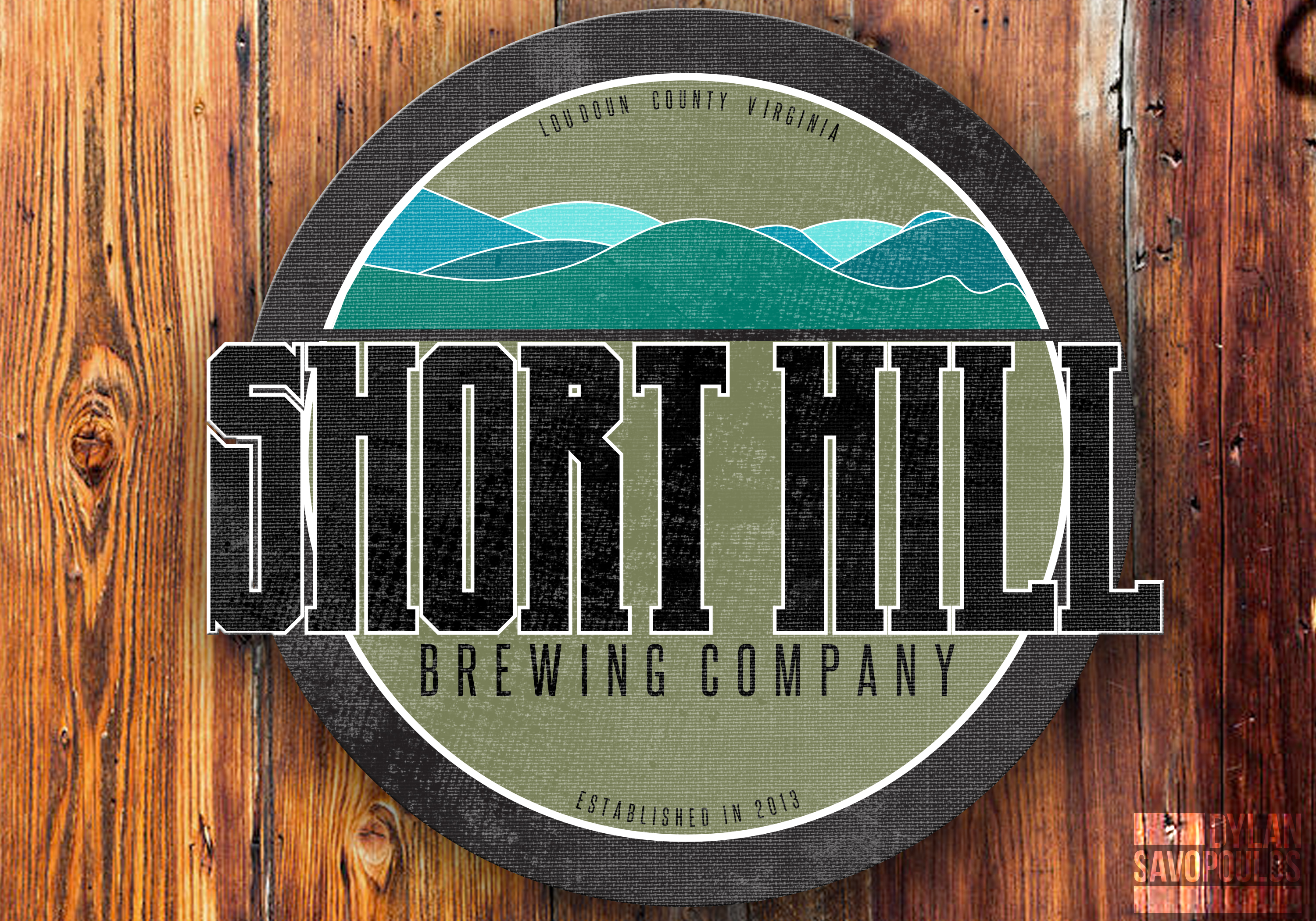 Logo Design by Dylan Savopoulos - Entry No. 61 in the Logo Design Contest Unique Logo Design Wanted for Short Hill Brewing Company.