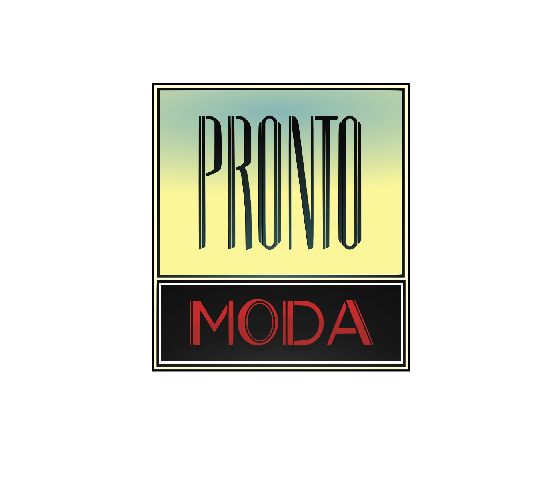Logo Design by hanson306 - Entry No. 40 in the Logo Design Contest Captivating Logo Design for Pronto moda.