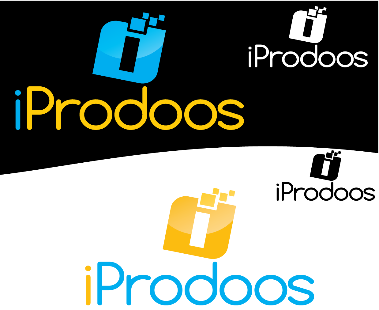 Logo Design by 354studio - Entry No. 65 in the Logo Design Contest New Logo Design for iProdoos.