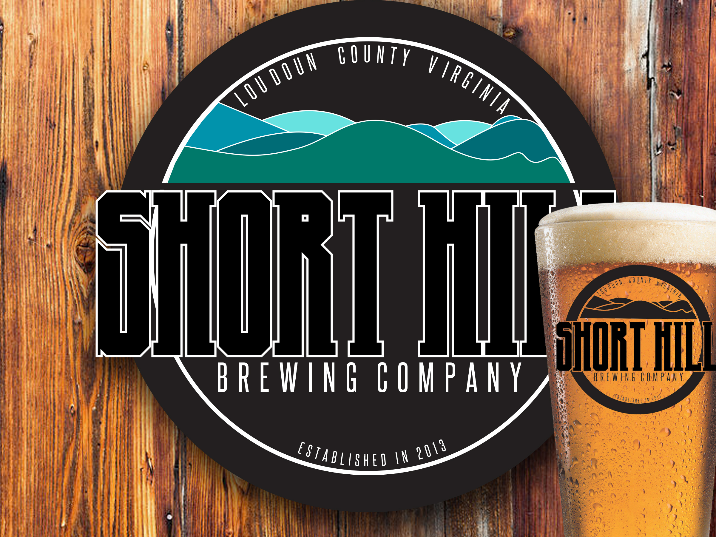 Logo Design by Dylan Savopoulos - Entry No. 62 in the Logo Design Contest Unique Logo Design Wanted for Short Hill Brewing Company.