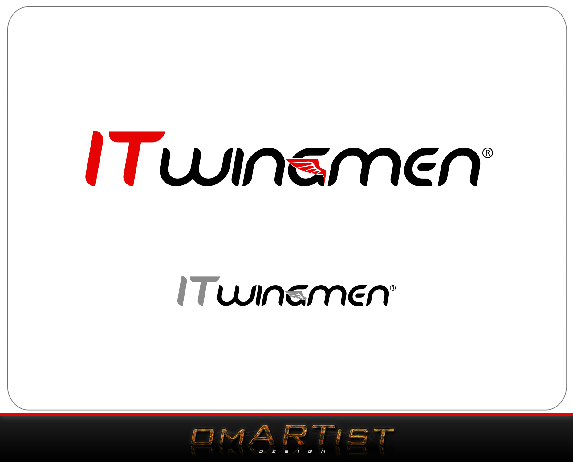 Logo Design by omARTist - Entry No. 31 in the Logo Design Contest New Logo Design for IT Wingmen.