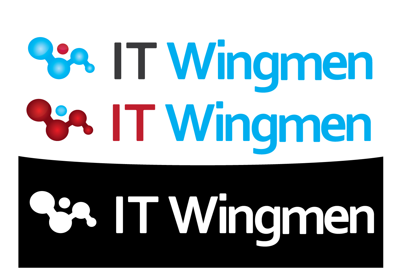 Logo Design by 354studio - Entry No. 32 in the Logo Design Contest New Logo Design for IT Wingmen.