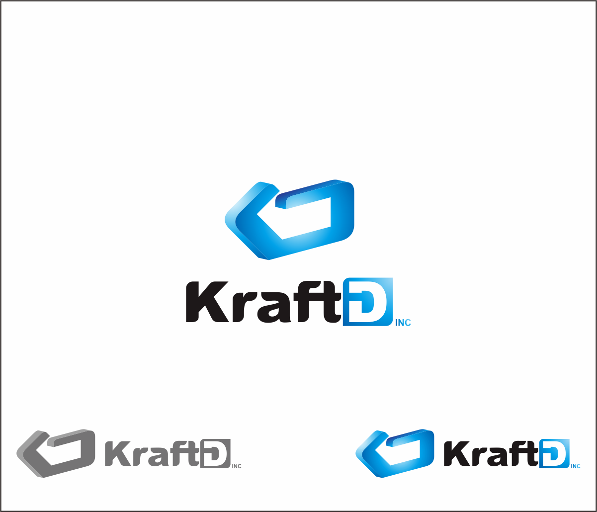 Logo Design by Armada Jamaluddin - Entry No. 398 in the Logo Design Contest Unique Logo Design Wanted for Kraft D Inc.