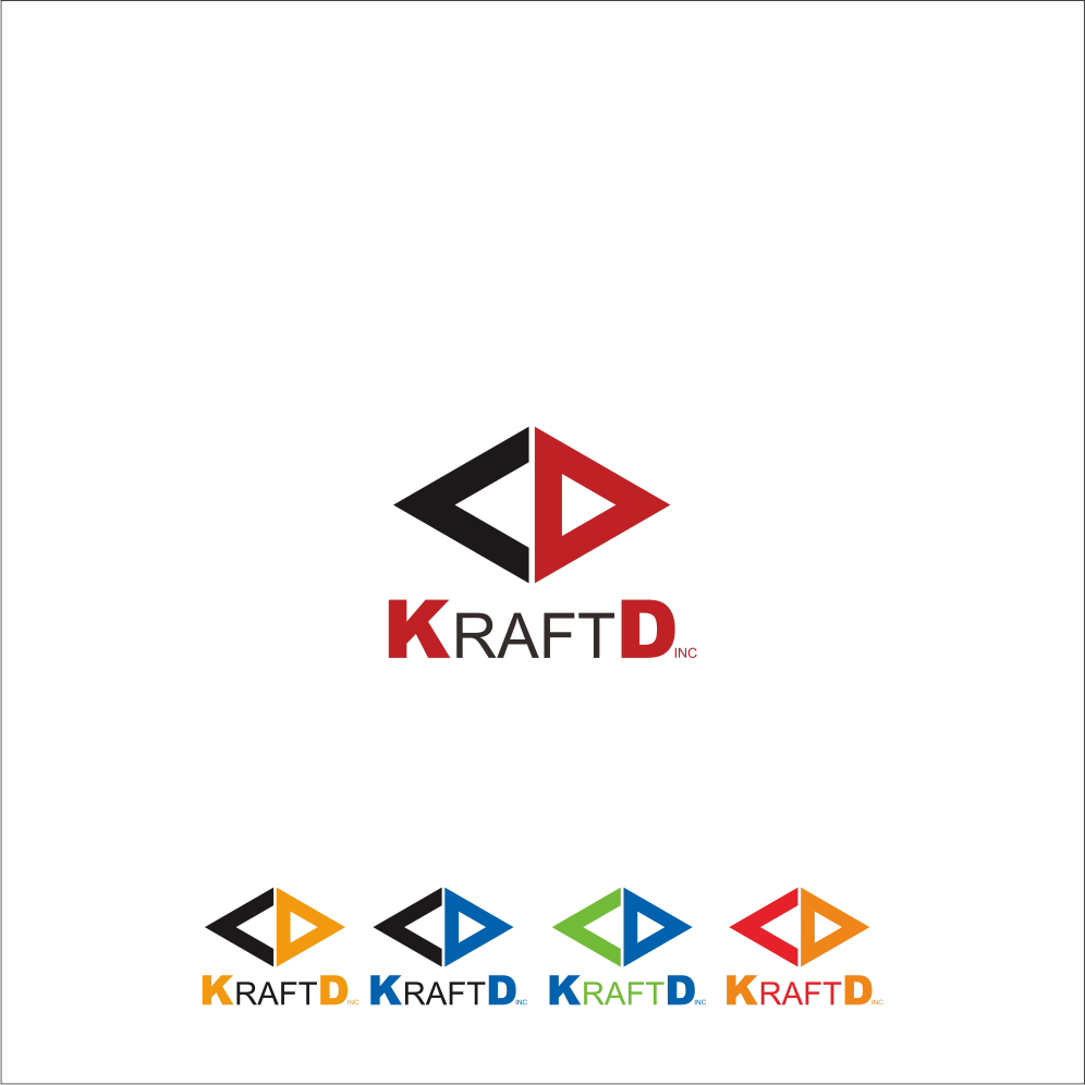 Logo Design by Armada Jamaluddin - Entry No. 403 in the Logo Design Contest Unique Logo Design Wanted for Kraft D Inc.