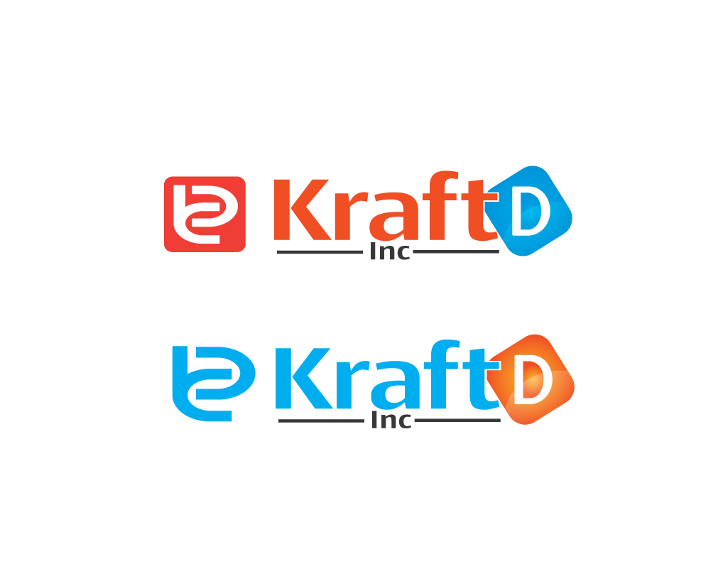 Logo Design by 354studio - Entry No. 404 in the Logo Design Contest Unique Logo Design Wanted for Kraft D Inc.