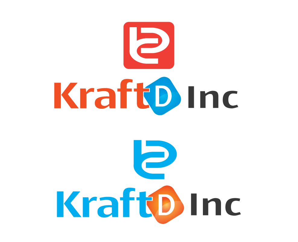 Logo Design by 354studio - Entry No. 405 in the Logo Design Contest Unique Logo Design Wanted for Kraft D Inc.