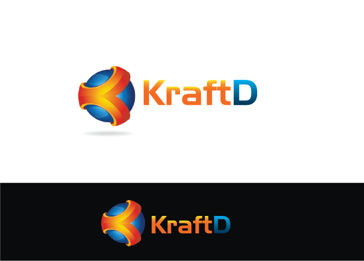 Logo Design by Private User - Entry No. 406 in the Logo Design Contest Unique Logo Design Wanted for Kraft D Inc.