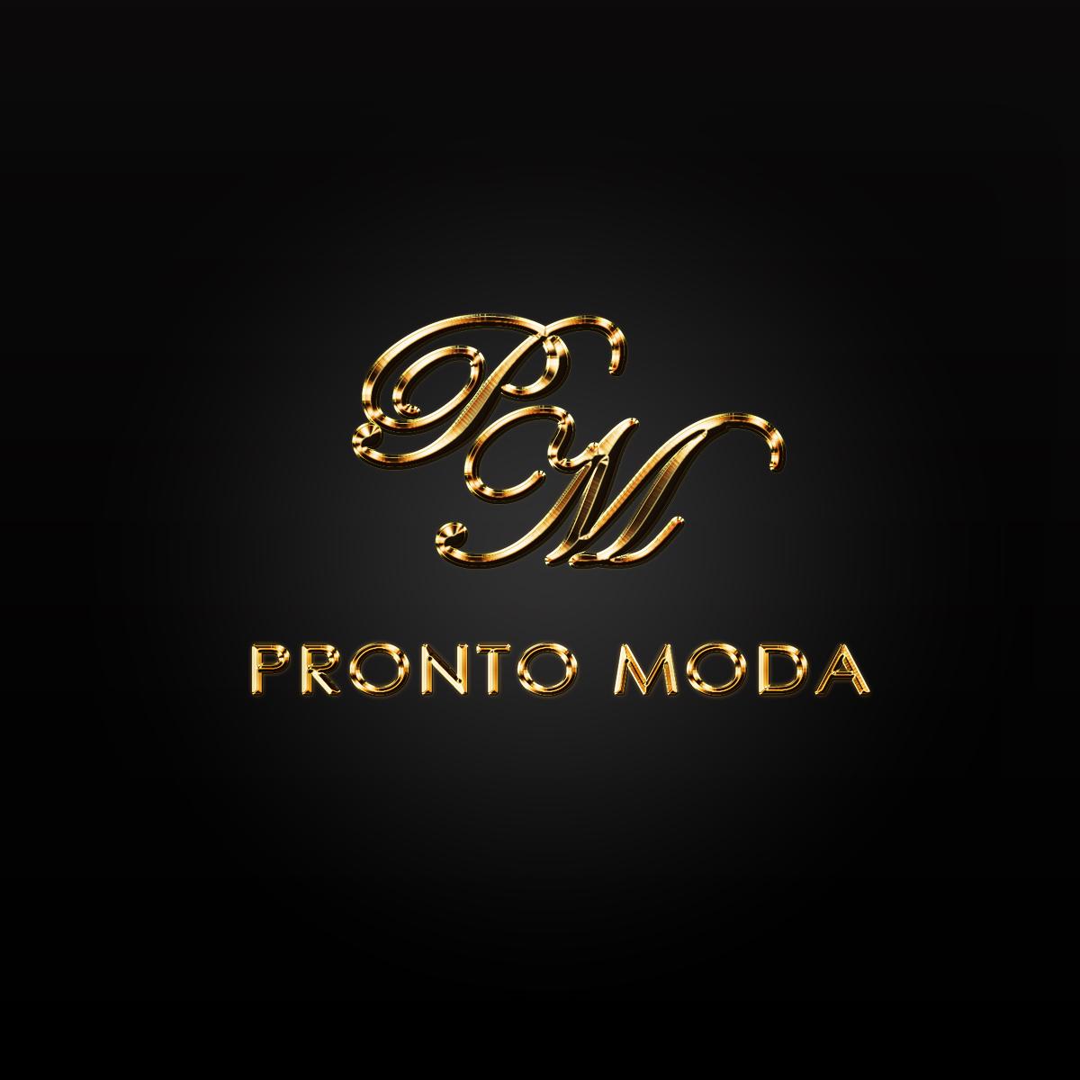 Logo Design by Private User - Entry No. 41 in the Logo Design Contest Captivating Logo Design for Pronto moda.