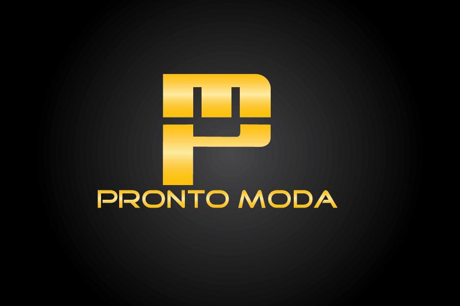 Logo Design by Private User - Entry No. 43 in the Logo Design Contest Captivating Logo Design for Pronto moda.