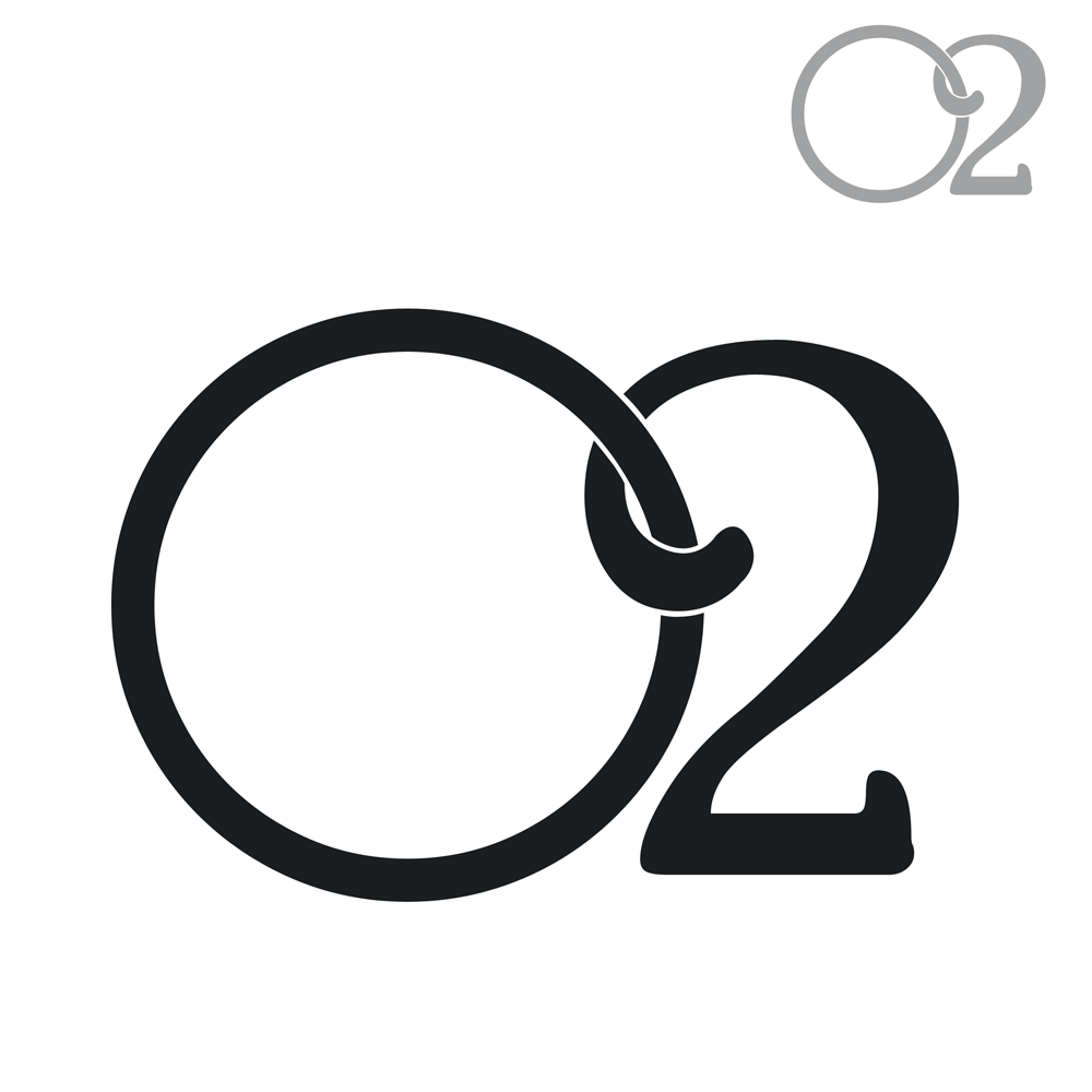 Logo Design by Robert Turla - Entry No. 59 in the Logo Design Contest Artistic Logo Design for O2.