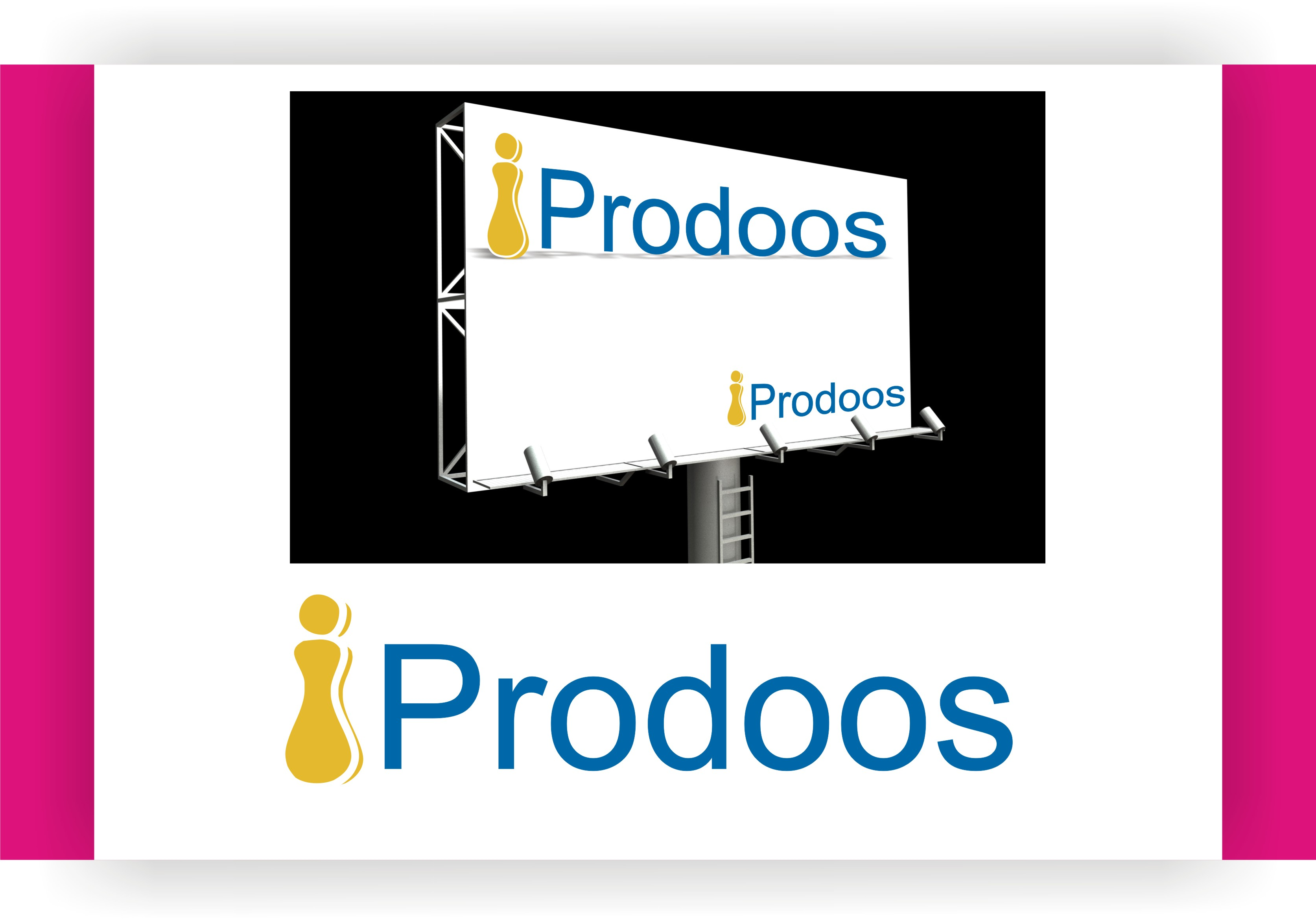 Logo Design by Shailender Kumar - Entry No. 69 in the Logo Design Contest New Logo Design for iProdoos.