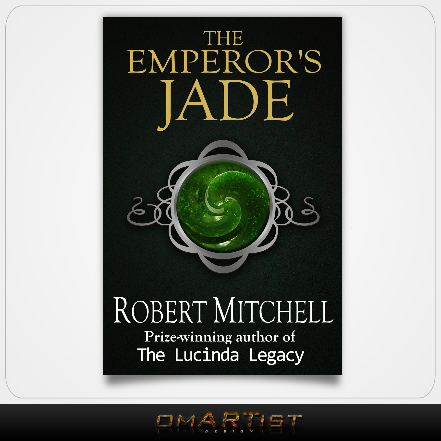 Book Cover Design by omARTist - Entry No. 34 in the Book Cover Design Contest Book Cover Design for The Emperor's Jade.