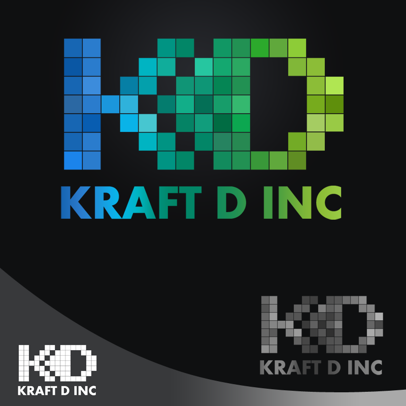 Logo Design by Private User - Entry No. 412 in the Logo Design Contest Unique Logo Design Wanted for Kraft D Inc.