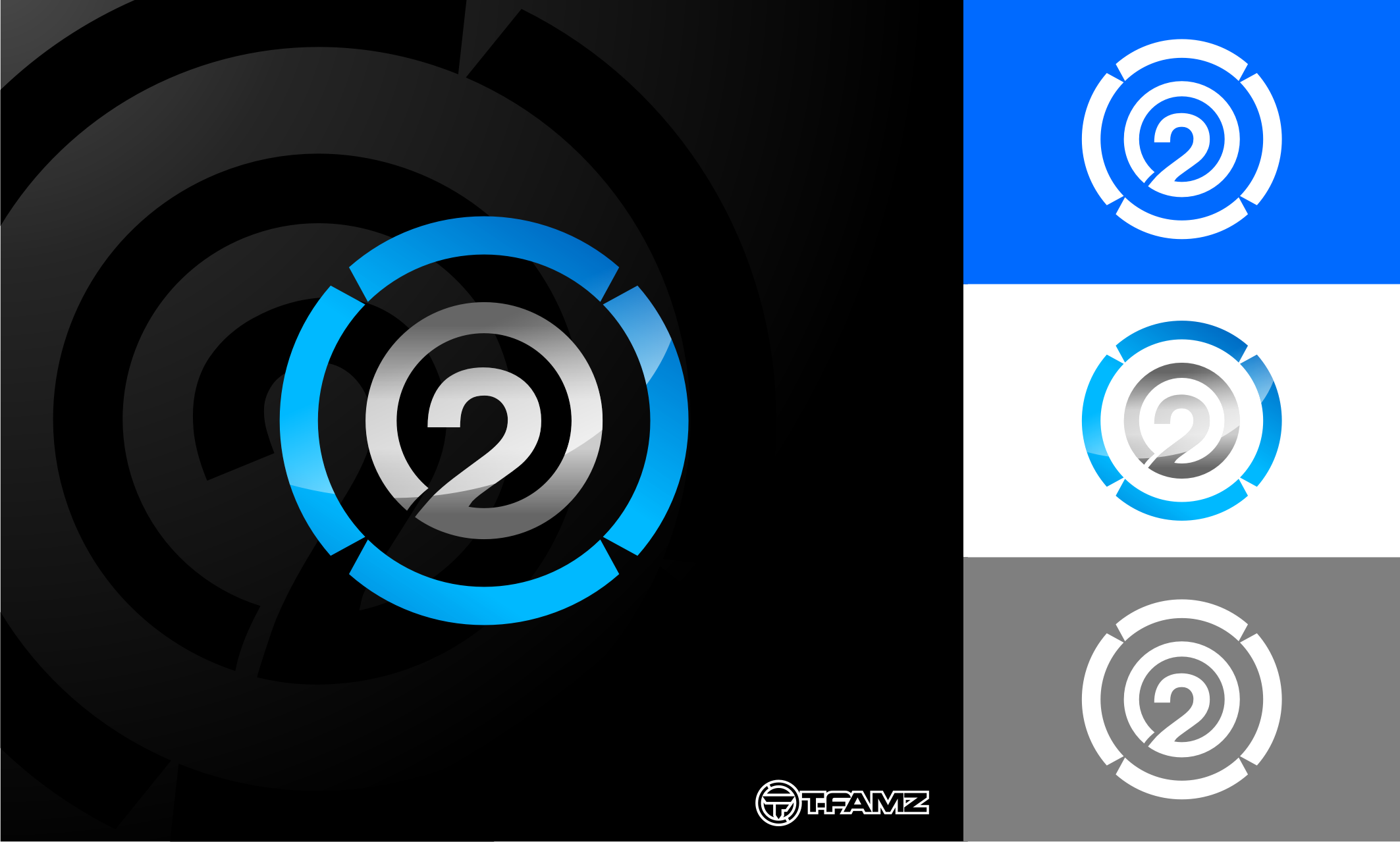 Logo Design by Tille Famz - Entry No. 60 in the Logo Design Contest Artistic Logo Design for O2.