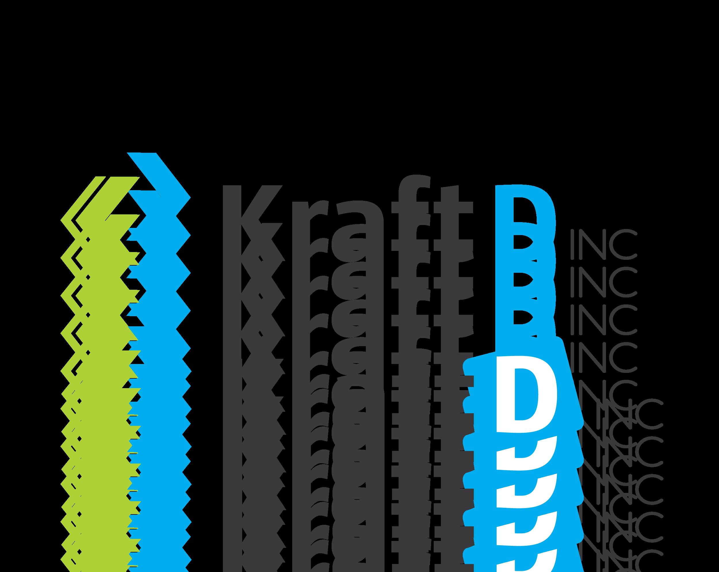Logo Design by 354studio - Entry No. 418 in the Logo Design Contest Unique Logo Design Wanted for Kraft D Inc.