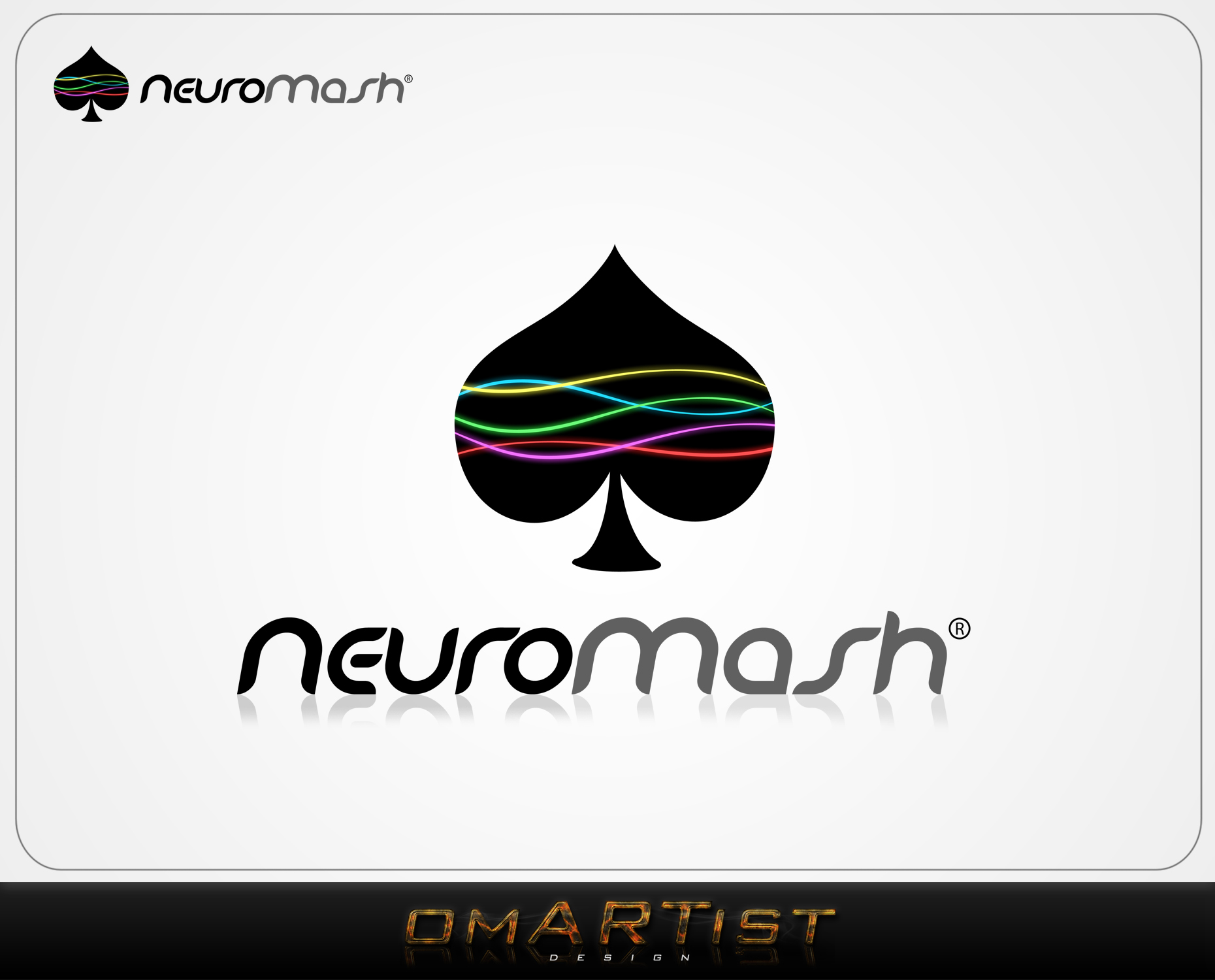 Logo Design by omARTist - Entry No. 24 in the Logo Design Contest Unique Logo Design Wanted for NeuroMash.