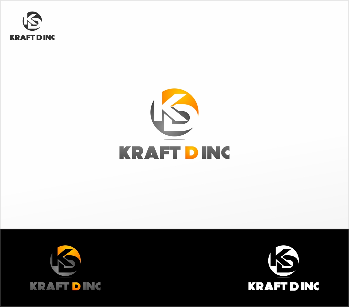 Logo Design by haidu - Entry No. 419 in the Logo Design Contest Unique Logo Design Wanted for Kraft D Inc.