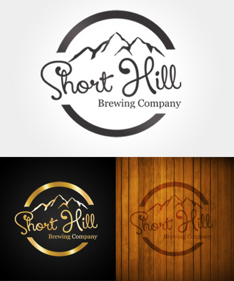 Logo Design by Private User - Entry No. 66 in the Logo Design Contest Unique Logo Design Wanted for Short Hill Brewing Company.