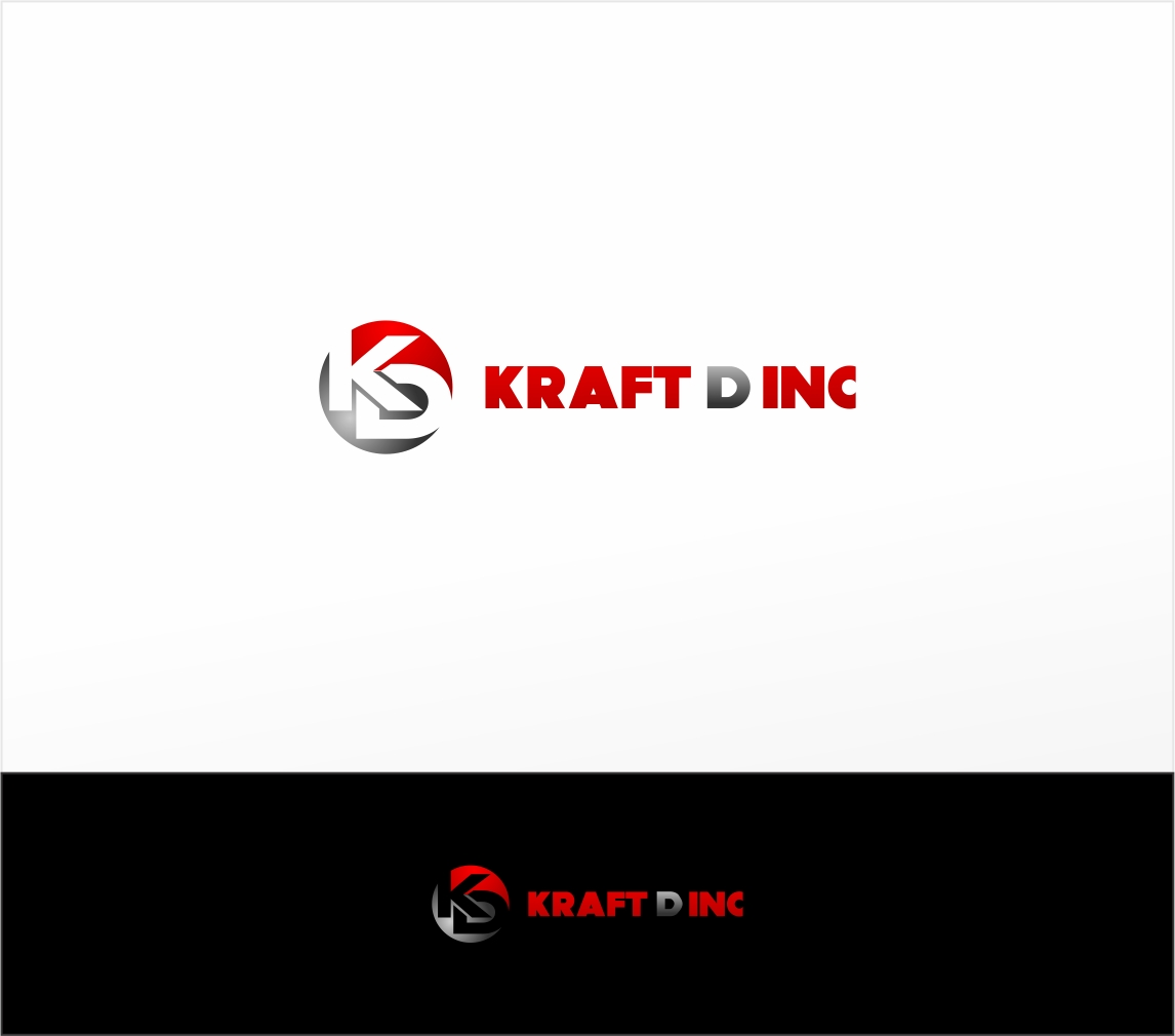 Logo Design by haidu - Entry No. 421 in the Logo Design Contest Unique Logo Design Wanted for Kraft D Inc.